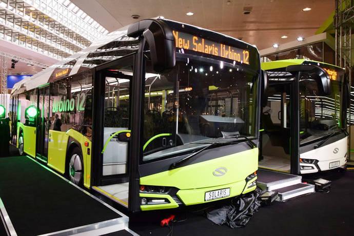 Solaris logra contratos para 110 autobuses en Israel