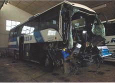 Bajan las muertes en autobuses por carretera