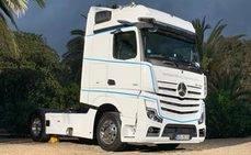 El nuevo Actros, el renovado modelo de Mercedes de venta en España