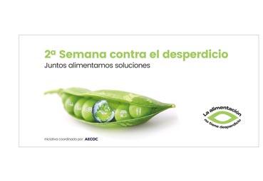 AECOC comprometida con la '2ª Semana contra el desperdicio alimentario'