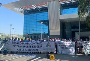 Fedintra denuncia la ineficacia de la APAE para gestionar las rutas escolares
