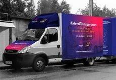 OnTurtle-Teleroute agradecen el trabajo de los transportistas en la crisis