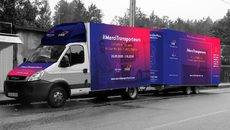 La 'food truck' de OnTurtle y Teleroute.