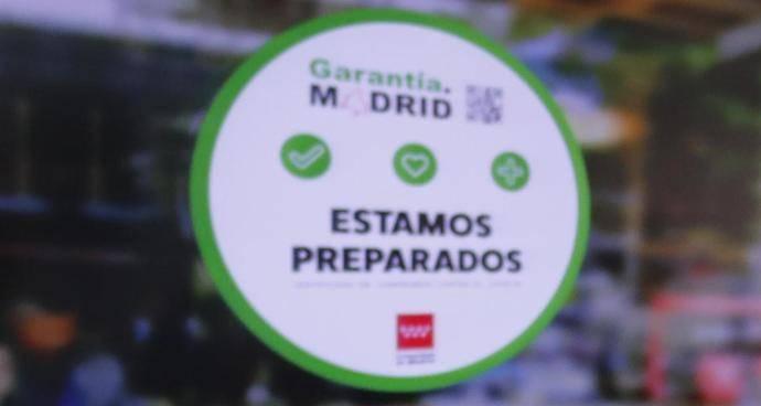 Empresas de Aetram obtienen el sello Garantía.Madrid, un certificado de compromiso contra el Covid-19