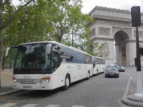 Más obligaciones para el transporte en Francia, en julio