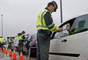1.912 conductores detectados en una semana habiendo consumido alcohol y drogas