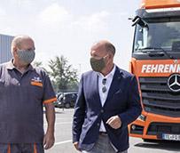 150 instalaciones sanitarias mínimo para camioneros