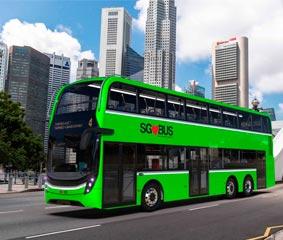 50 nuevos Alexander Dennis Enviro500 para Singapur