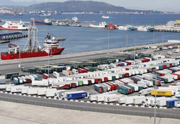 El Puerto de Algeciras se acondiciona para mejorar la carga