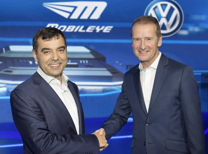 Alianza estratégica entre Mobileye y Volskwagen