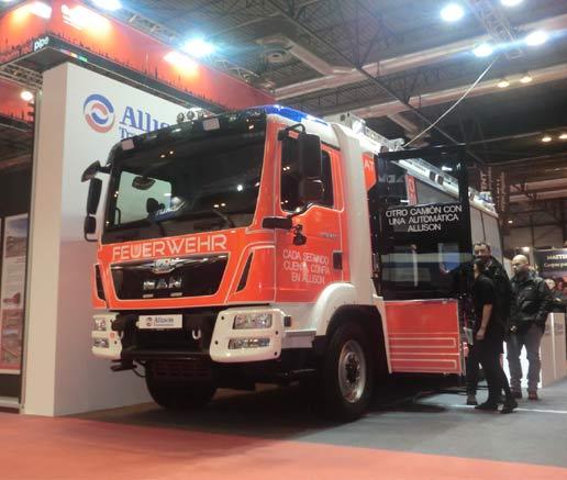 Allison y MAN, relación perfecta y segura en camiones de bomberos