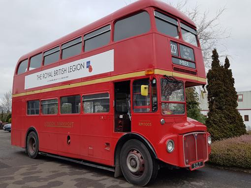 Routemaster ya es oficialmente un autobús de baja emisión