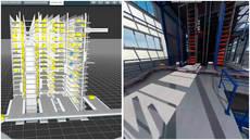 Swisslog muestra sus almacenes con realidad virtual