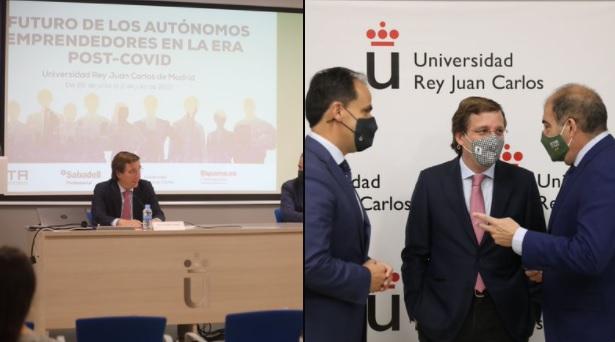 Almeida: 'Madrid seguirá apoyando a autónomos y emprendedores'