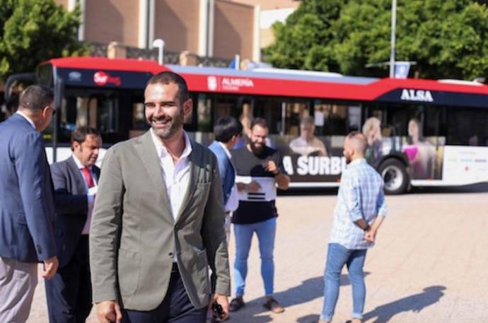 Los usuarios del autobús urbano de Almería aumentan un 4,2% en 2019
