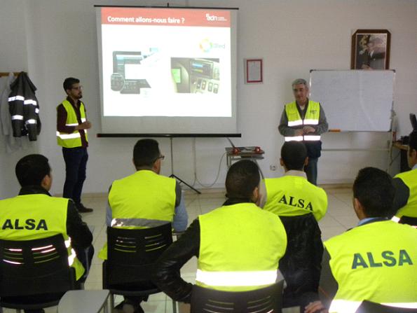 Buenos resultados del sistema de conducción eficiente de Alsa en Marruecos