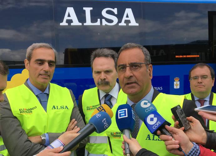 Alsa busca mejorar transporte en autobús en el área metropolitana de Asturias