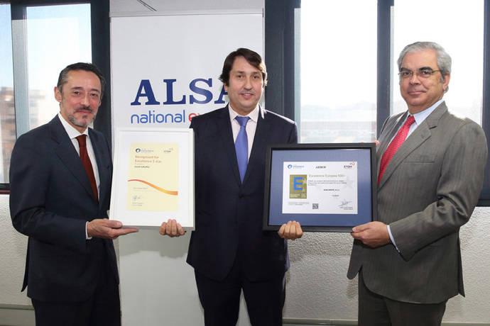 Alsa obtiene el Sello Excelencia Europea