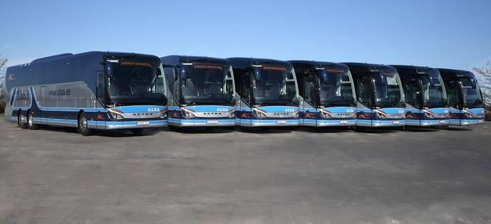 ALSA invierte 6,5 millones en 17 nuevos autocares para Madrid - Barcelona