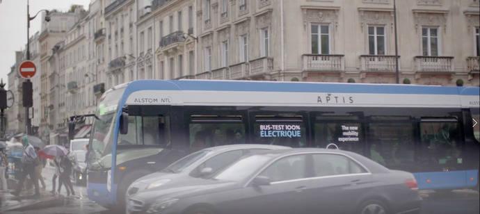 Aptis, creado por Alstom, premio a la innovación en Busworld 2017
