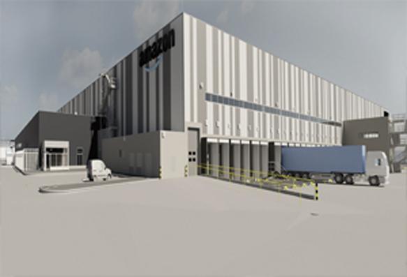 Nuevo centro de distribución de Amazon en Barcelona