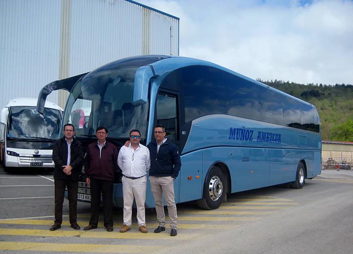 Transportes Muñoz Amezcua recoge su segundo SC7 de Sunsundegui