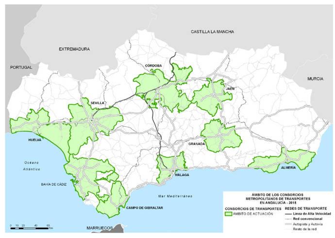 1.300 millones para Transporte en Andalucía