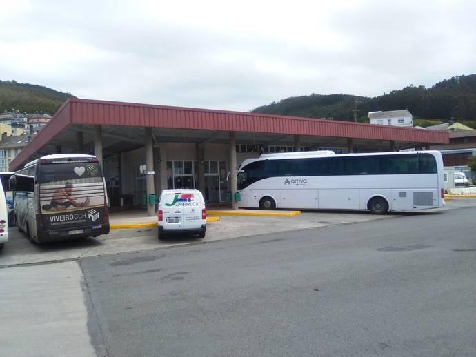 La Xunta finaliza las obras de reforma integral de la estación de autobuses de Viveiro, a las que destinó 221.300 euros