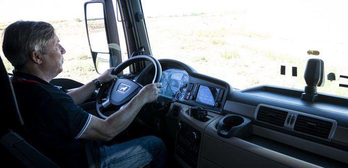 Una conducción eficiente puede ahorrar al transportista un 20% en combustible