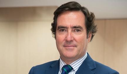 Confebus apoya a Antonio Garamendi como presidente de la CEOE