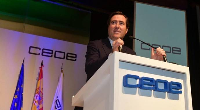 Antonio Garamendi es elegido como nuevo presidente de CEOE