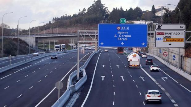 Galicia sigue sufriendo las subidas de la AP-9