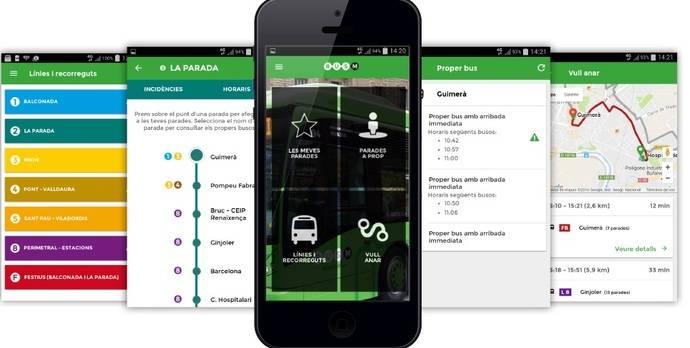 El servicio urbano de Manresa estrena una nueva aplicación móvil