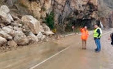 Aragón avanza en la mejoras de la carretera A-1412