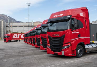 El Grupo Arcese renueva su flota con 20 vehículos Iveco S-Way NP