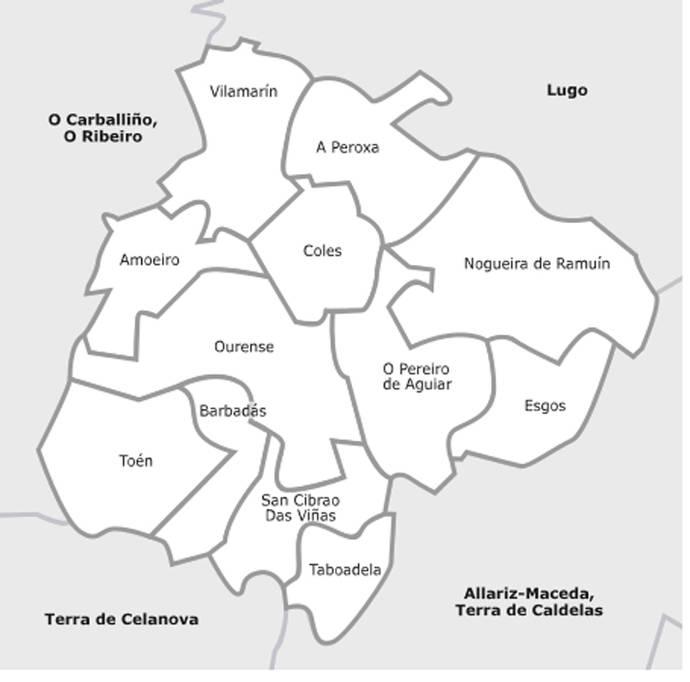 La Xunta envía a alcaldías del área de Ourense el convenio del transporte metropolitano