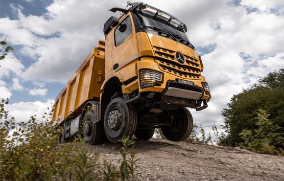 El nuevo Mercedes-Benz Arocs se adapta a todas las necesidades de la construcción