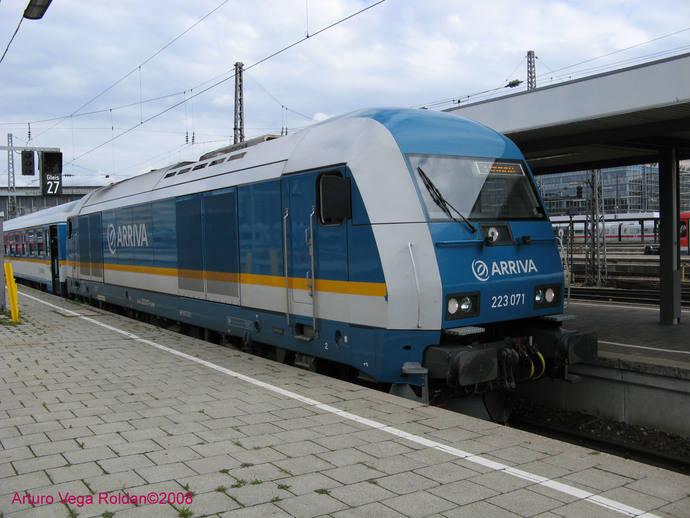 Arriva pide operar una línea ferroviaria internacional A Coruña-Oporto
