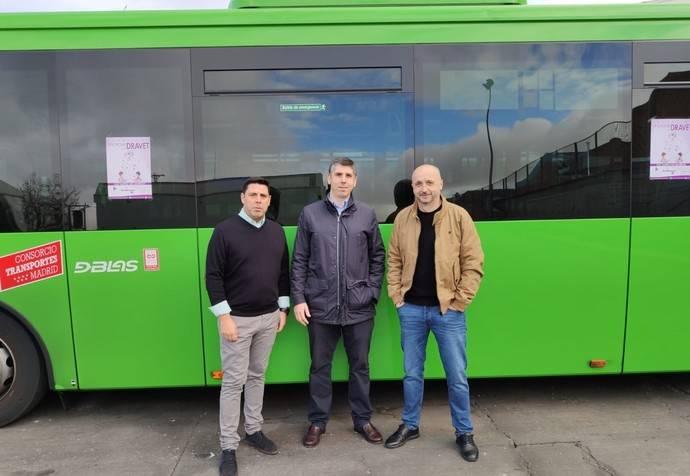 'Autobuses de solidaridad', campaña de Arriva Madrid