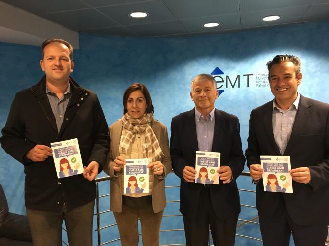 Imagen de la presentación de la campaña de EMT Palma.