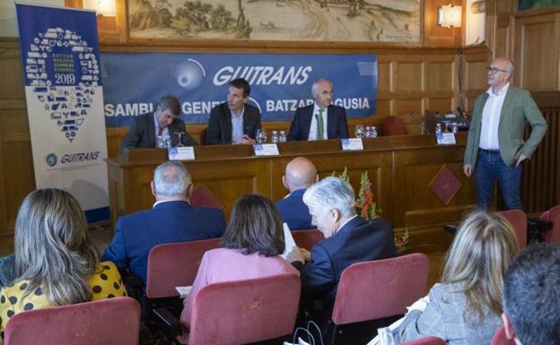 Guitrans pide mayor cohesión del Sector para mejorar su posicionamiento en la cadena logística