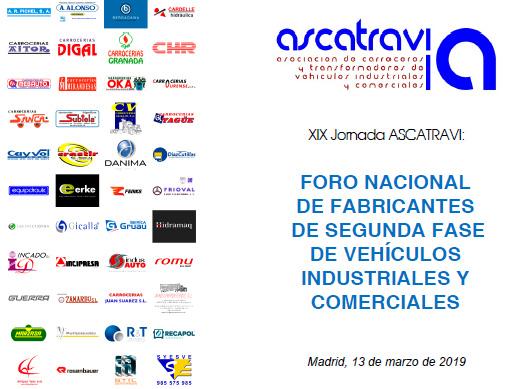 Ascatravi realizará el próximo 13 de marzo su XIX Jornada anual