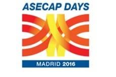 Celebración en Madrid del 44ª Congreso Europeo de Autopistas de Peaje (ASECAP)
