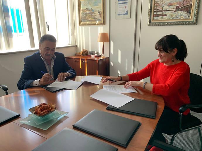 Asetrabi firma un convenio de colaboración con AVE-VIE