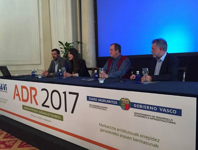 100 profesionales participan en Bilbao en una jornada del ADR 2017