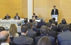 Rafael Barbadillo en la Asamblea de Asintra