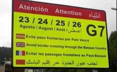Astic rechaza el blindaje de la Ertzaintza en Guipúzcoa ante la cumbre del G-7