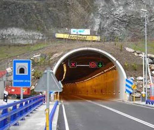 Asturias reforzará la seguridad en los principales túneles de sus carreteras
