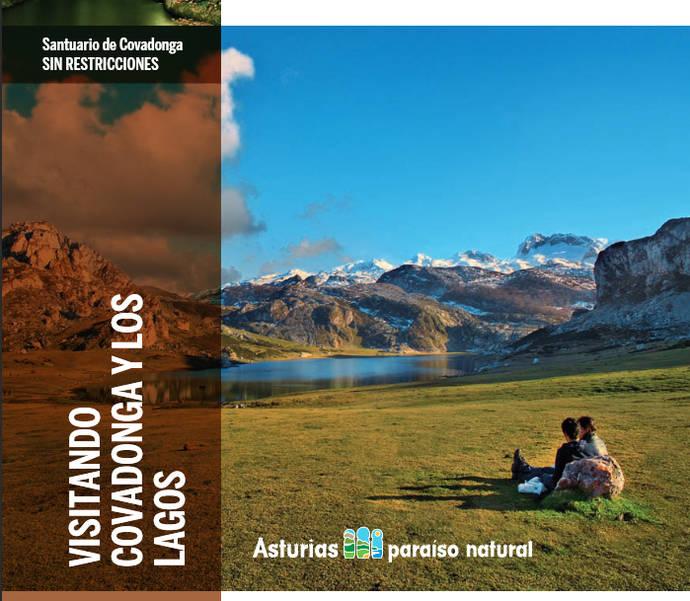 Imagen de los lagos de Covadonga.