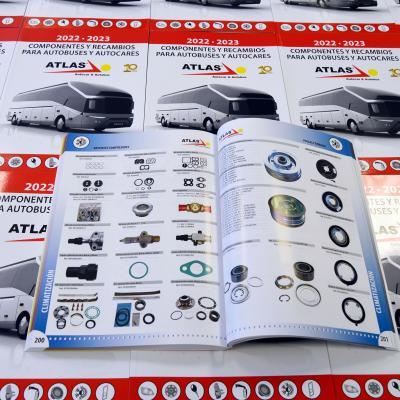 Atlas Bus publica su nuevo catálogo general de recambios 2022-2023